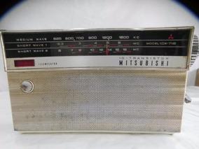 Radio Mitsubishi Mod. 10x718 3 Faixas Nao Funciona Peças