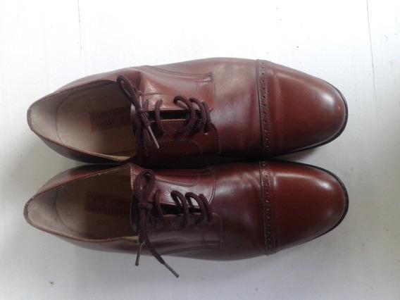 Zapatos De Vestir Color Marron Fabri-venta Casi Sin Uso