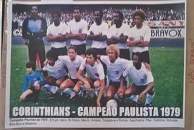 Poster Do Corinthians - Campeão Paulista De 1979
