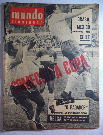 Revista Mundo Ilustrado N°232 1962 No Estado