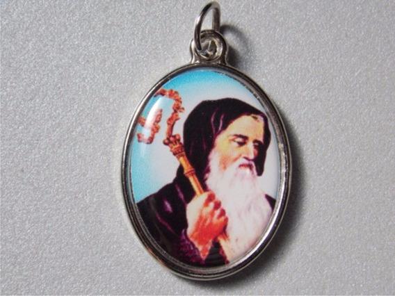 100 Medallitas Religiosas Redondas Fabricamos A Pedido.-