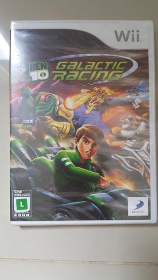 Jogo Nintendo Wii - Ben 10 Galactic Racing -original Lacrado