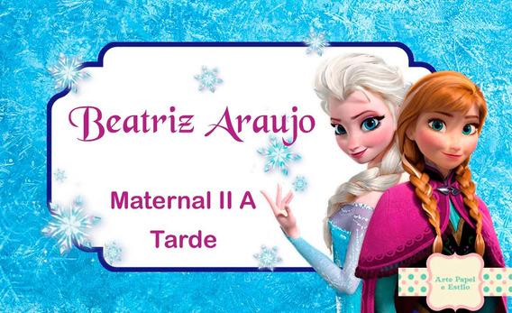 Etiquetas P/ Material Escolar - Caderno, Livro - Frete 15,00