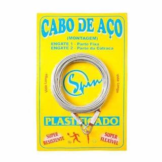 Cabo De Aço Spin Para Rede De Tênis