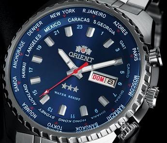 Relógio Orient Gmt 469ss057 Automático - A Vista - Original