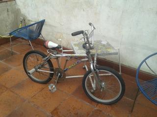 Bicicleta Bmx Cromado Triplex Vieja Escuela Freestyle