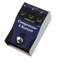 Pedal Guitarra Landscape Compressor E Sustain Cst 1