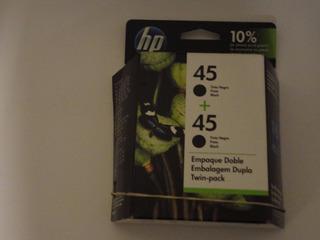 Cartucho Hp 45a Alta Capacidad Blister De Caja Dual X Unidad