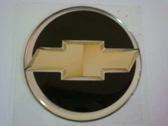 Kit 8 Emblemas Rodas Calota Chevrolet