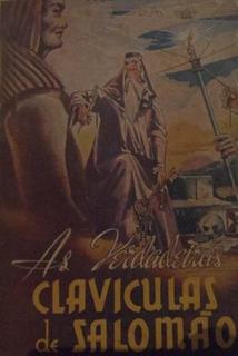 Livro As Verdadeiras Claviculas De Salomão (magia, Kabbalah)