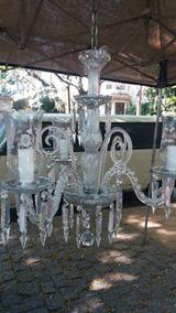 Lustre De Cristal Tcheco