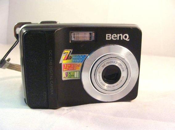 Peças Câmera Benq Dc C740 7.0 Mega Pixels Cad. 3827