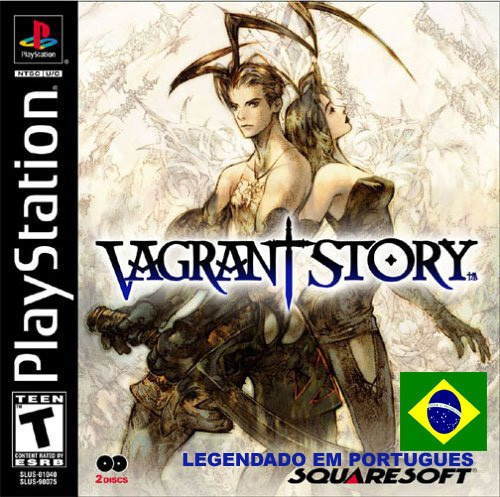 Vagrant Story Legendado Em Portugues - Playstation 1 Psx Rpg