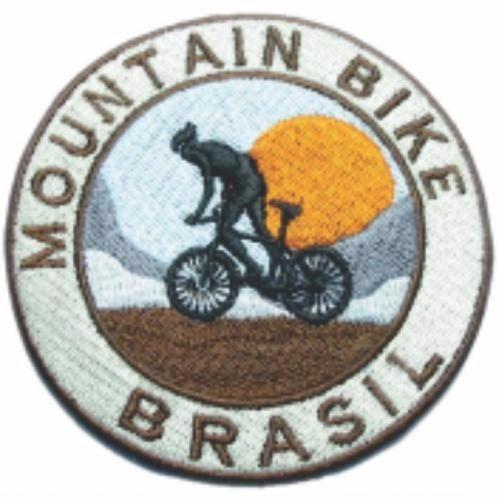 Bordado Termocolante Mountain Bike Brasil