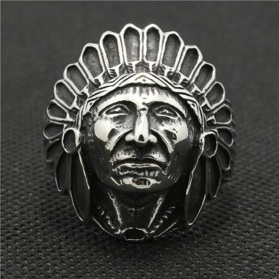 Anel Apache Em Aço