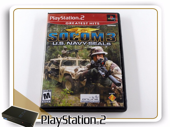 Ps2 Socom 3 Us Navy Seals Original Playstation 2