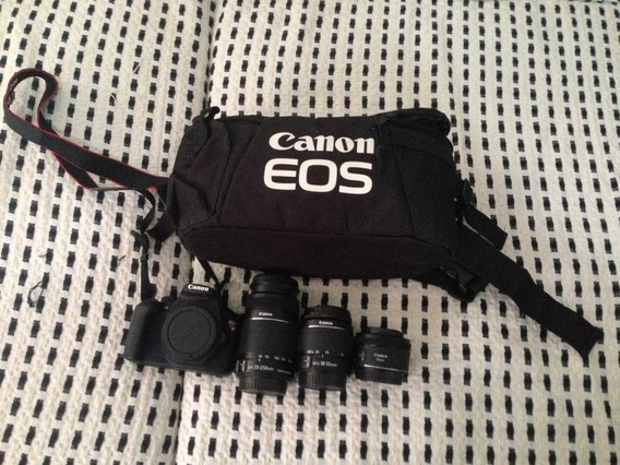 T5 Canon Eos Rebel + Lentes. Muito Nova, Pouquissimo Uso!!!!