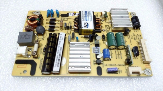 Placa Fonte Semp Toshiba - Sti Le3264(b) - Le3264(b)w