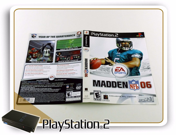 Ps2 Encarte Madden Nfl 06 Original Playstation 2