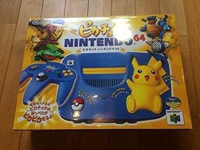 Nintendo 64 Pikachu Azul + 10 Jogos
