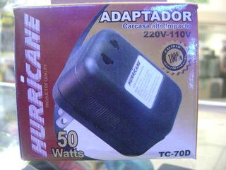 Transformador Voltaje (220v A 110v) Potencia 50 Watts Tc-70d