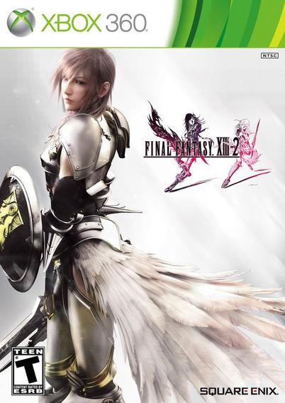 Jogo Final Fantasy Xiii 2 Xbox 360 Original