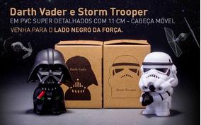 Kit Star Wars: Darth Vader E Storm Trooper #frete Grátis#