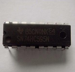 Ci 74hc595 Dip Circuito Integrado - Arduino
