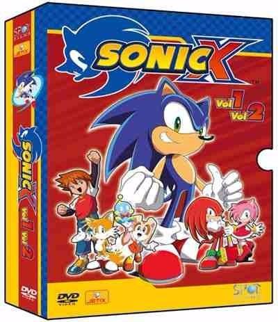 Dvd Sonic X - Série Completa ( 03 Temporadas )