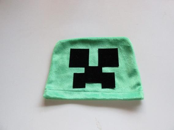 Touca Do Creeper - Minecraft