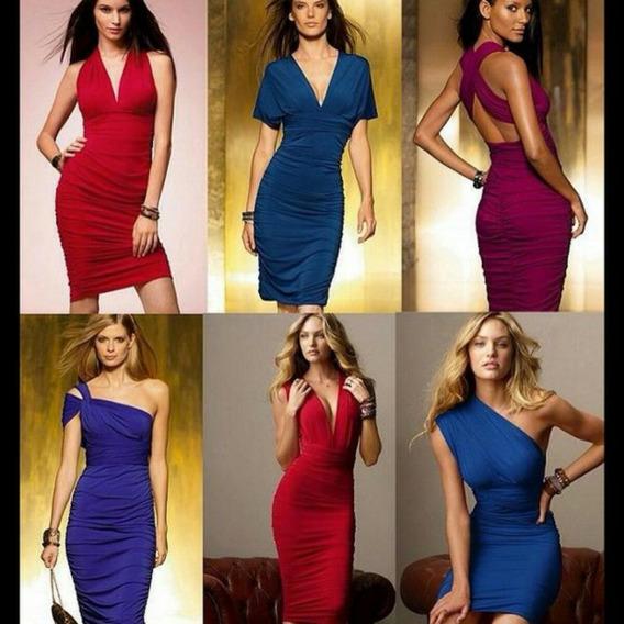 Ropa Mujer Vestido Stretch Victoria Secret 6 Vestidos En 1!