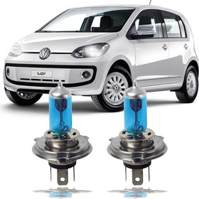 Kit Lampada Super Branca Vw Up 2014 2015 Farol Alto Baixo H4