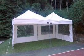Tenda Sanfonada Pantografica 4,5 X 3m