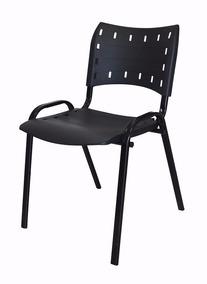 Cadeira Para Igrejas, Sorveterias, Restaurantes - Preta