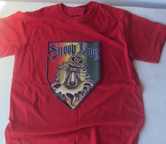 Camiseta Camisa Hip Hop Reggae Snoop Lion Swag