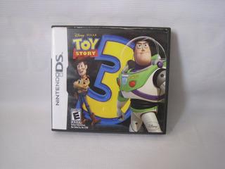 Juego Toy Story 3 Pa Consola Nintendo Ds Usado Pixar Disney