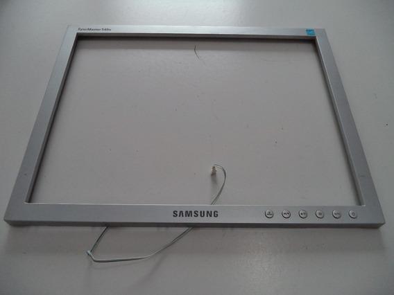 Moldura Externa Com Botão Power Monitor Samsung 540n
