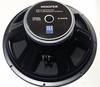 Parlante Woofer 15 Zkx W1525 200 Watts Rms Dj Todelec
