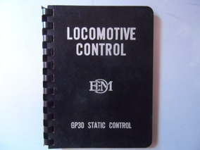 Livro Locomotive Control Gp30 Static Control