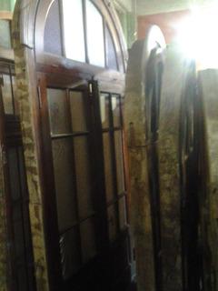 Puertas De Demolicion Doble Hoja,c Vidrio Repartido