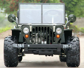 Cuatriciclo Atv Titan Mini Jeep Willys 110 Cc