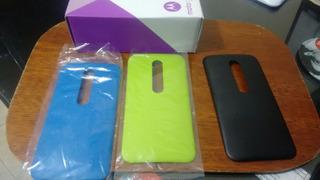 Tapas Traseras Para Motorola G3 Completamente Originales