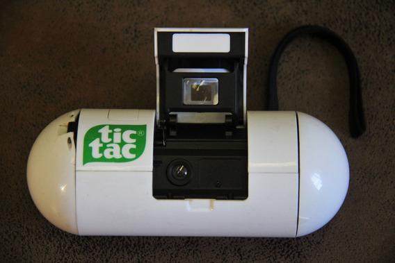 Maquina Fotografica Tic Tac - Fabric Mgb Indl Co - Anos 80