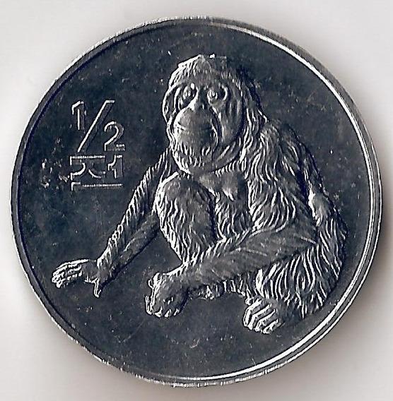 Korea Del Norte, 1/2 Chon, 2002. Mono. Sin Circular
