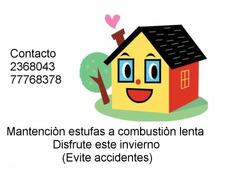 Limpieza Estufas A Leña,combustion Lenta, Bosca, Amesti, Etc