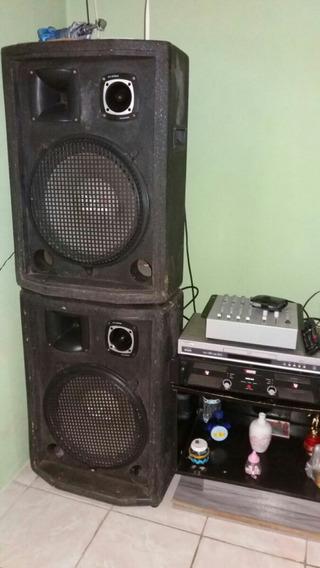 Som Montado Fone De Pessado Mesa De 6 Canal Amplificador For