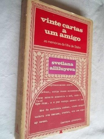 * Livro - Vinte Cartas A Um Amigo - Literatura Estrangeira