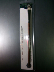 Pincel Profissional Para Corretivo - Linha Madeira- Macrilan