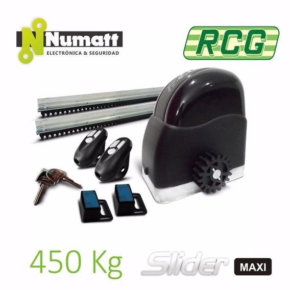 Kit Motor Portón Corredizo Rcg 450kg