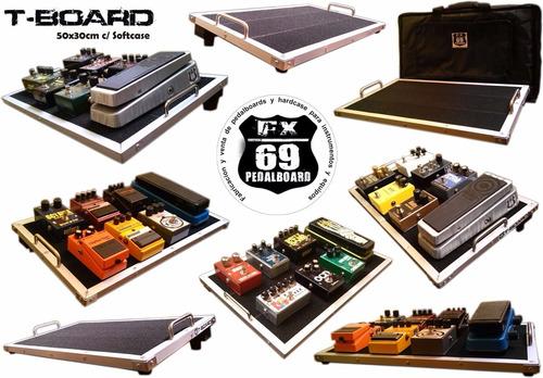 Pedalboard T-board 50x30cm (boss Mxr Guitarra Bajo Ibanez)